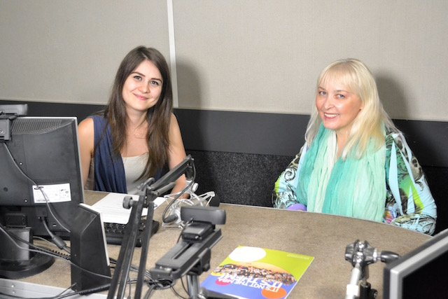 Interviu cu Cristina Hlusak la Radio Lynx