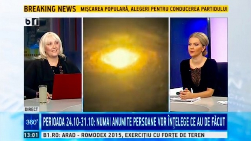 Horoscopul pentru sfarsitul lunii octombrie cu Cristina Hlusak si Alina Badic