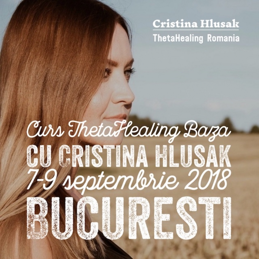 CURS THETAHEALING BAZA 7-9 SEPTEMBRIE 2018 – PRET PROMOTIONAL