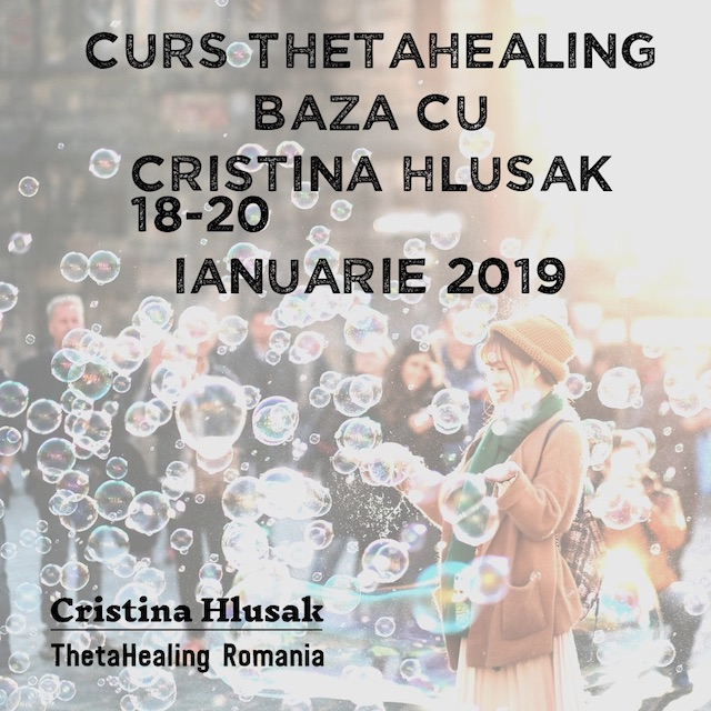 CURS THETAHEALING BAZA 18-20 IANUARIE 2019 – PRET PROMOTIONAL