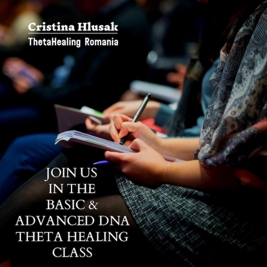 Join us in the Basic & Advanced DNA ThetaHealing Class