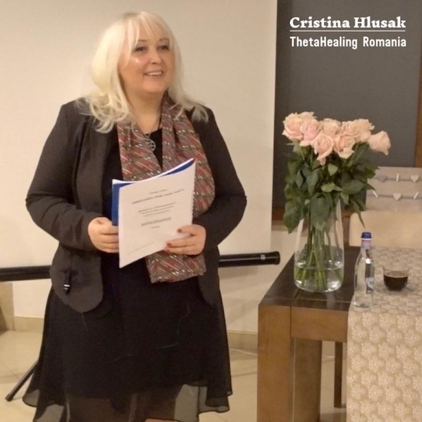 ThetaHealing Webinar LIVE cu Cristina Hlusak – 19 Februarie 2019 (Video)