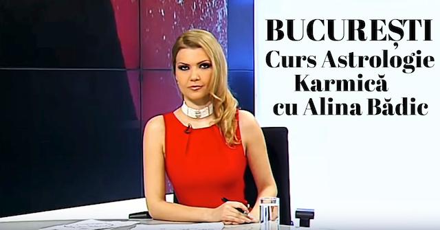 Bucuresti, Curs de Astrologie Karmica cu Alina Badic