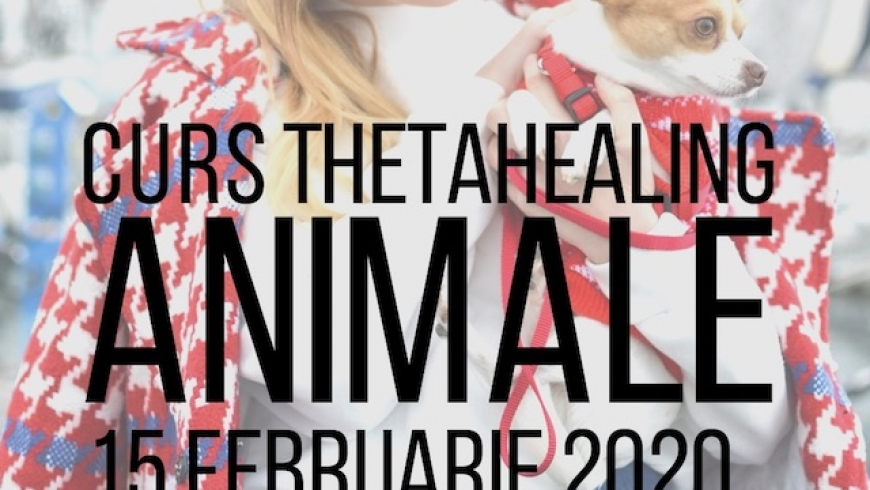 Curs ThetaHealing Animale, 15 Februarie 2020