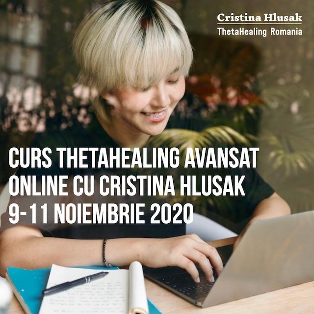 Curs ThetaHealing Avansat Online, 9-11 Noiembrie 2020