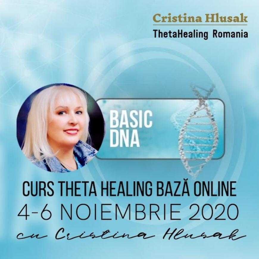 Curs ThetaHealing Baza Online 4-6 Noiembrie 2020 – Pret Promotional