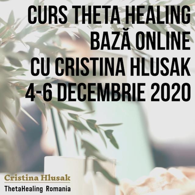Curs ThetaHealing Baza Online 4-6 Decembrie 2020 – Pret Promotional