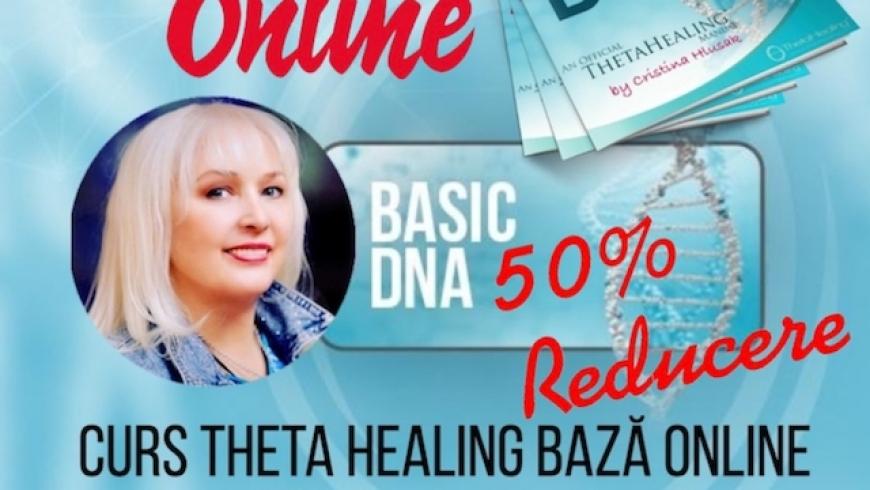 Curs ThetaHealing Baza Online 23-25 Aprilie 2021 – Pret Promotional