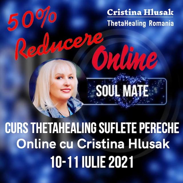 Curs ThetaHealing Suflete Pereche Online 10-11 Iulie 2021
