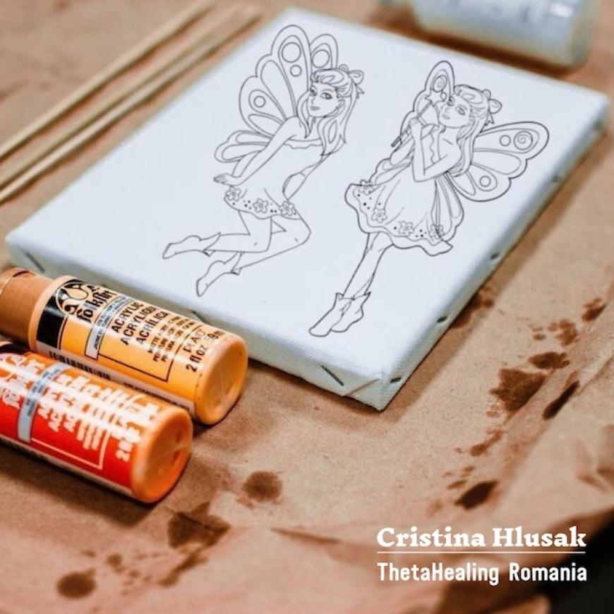 Redă viață zânelor prin pictură intuitivă